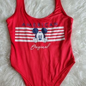 Mickey Mouse Disney one piece swimsuit size m